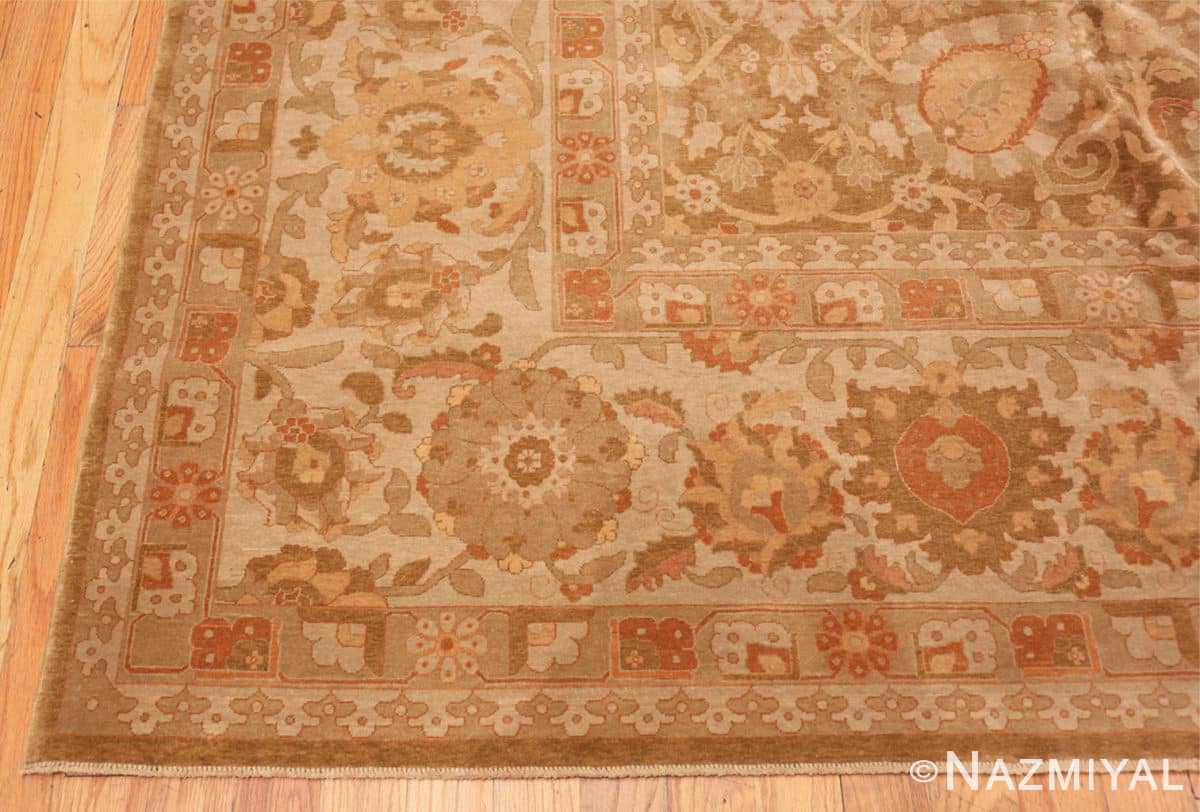 Corner large modern Persian Tabriz design turkish rug 41237 by Nazmiyal