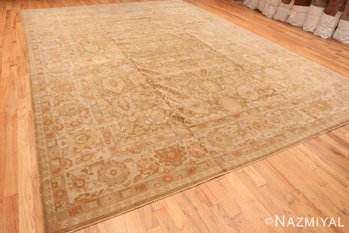 Full view large modern Persian Tabriz design turkish rug 41237 by Nazmiyal