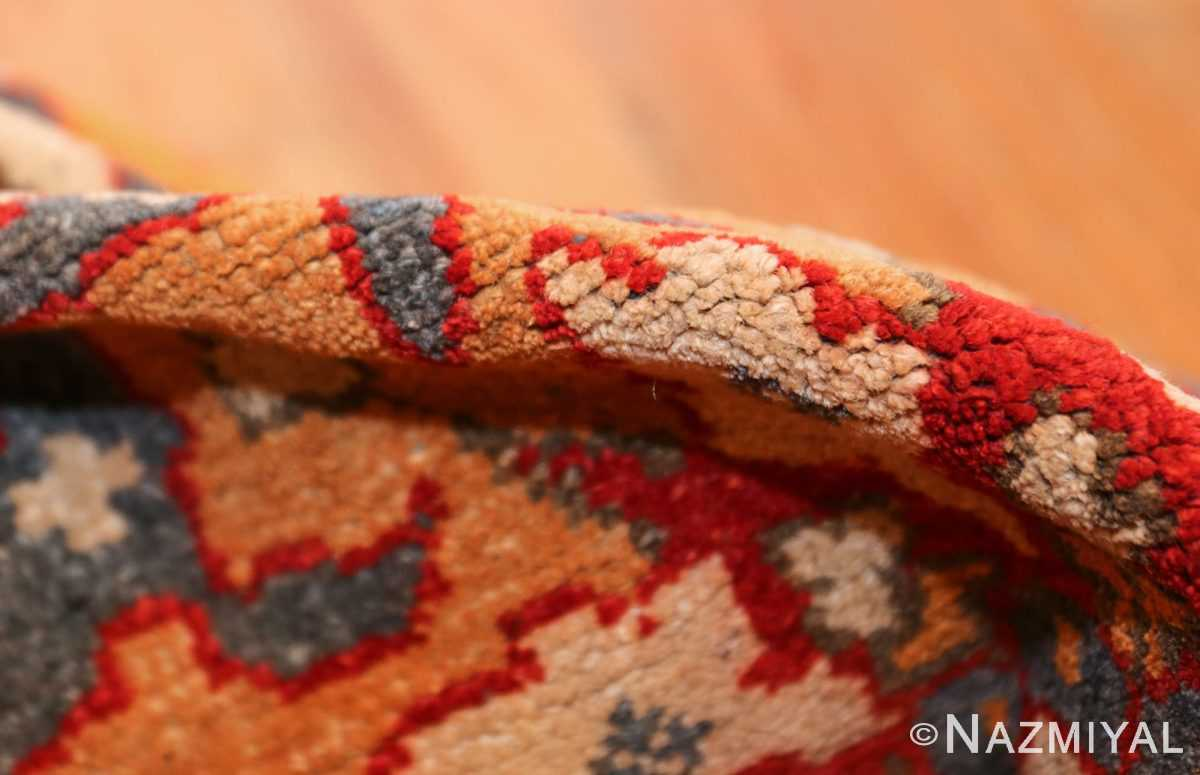 antique agra indian rug 44615 pile Nazmiyal