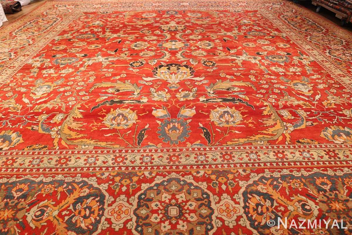antique agra indian rug 44615 whole Nazmiyal