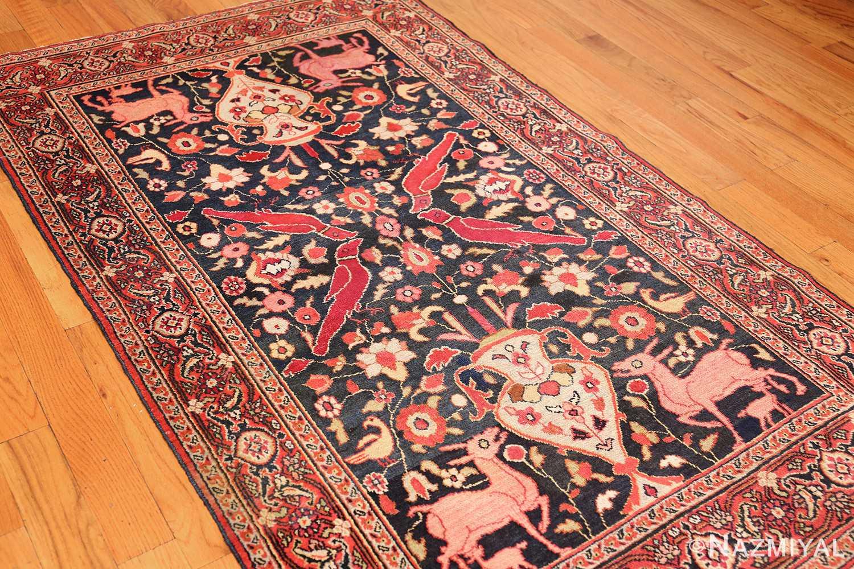 antique persian khorassan rug 44612 side Nazmiyal