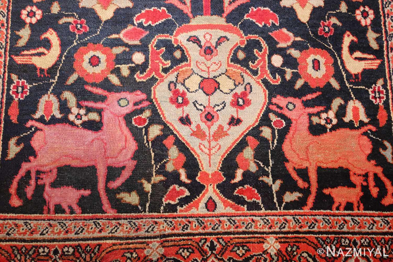 antique persian khorassan rug 44612 vase Nazmiyal