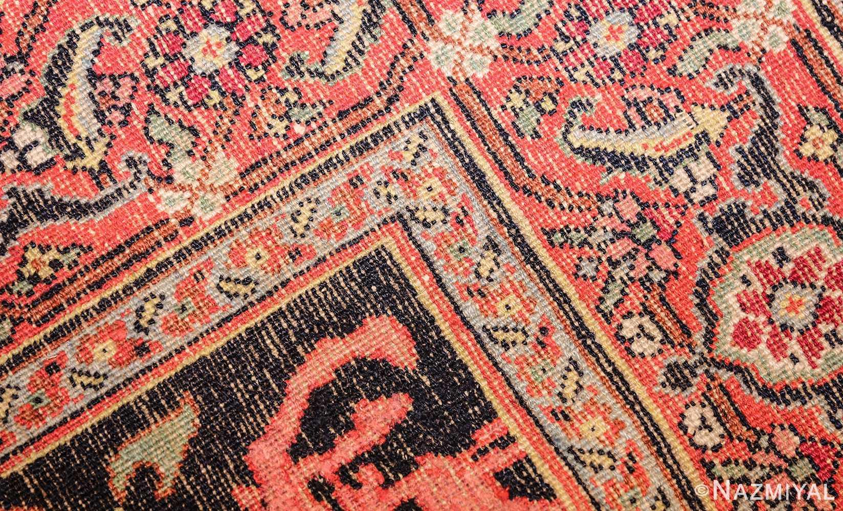 antique persian khorassan rug 44612 weave Nazmiyal