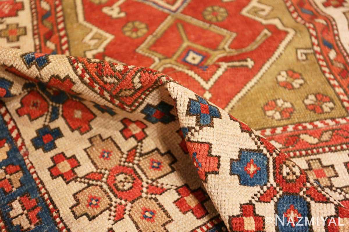 Pile Small scatter size Tribal Antique Turkish Bergama rug 44443 by Nazmiyal