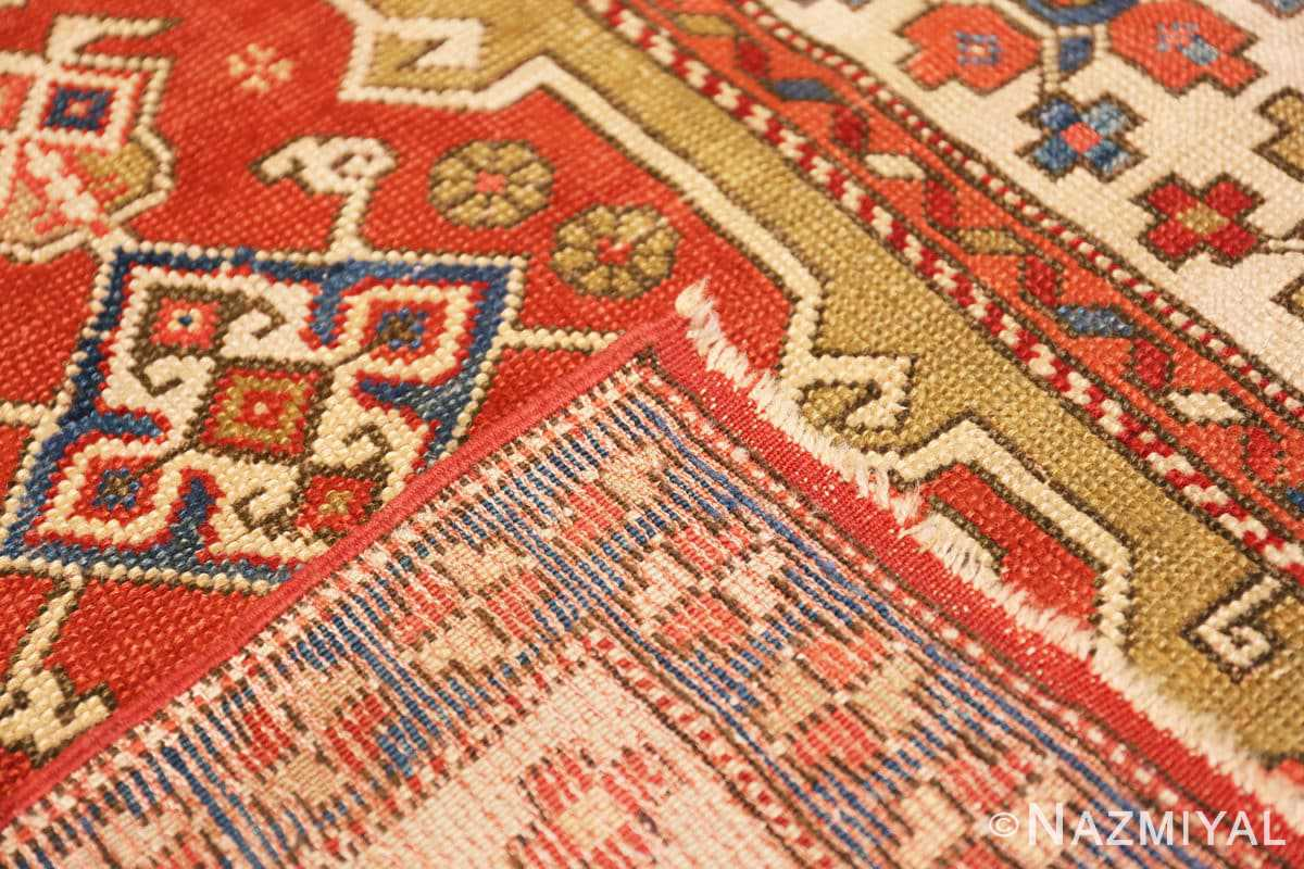 Weave Small scatter size Tribal Antique Turkish Bergama rug 44443 by Nazmiyal
