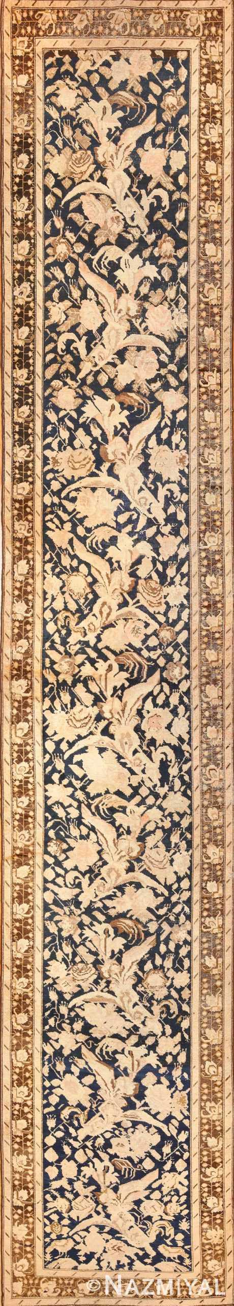 antique karabagh runner rug 44441 Nazmiyal