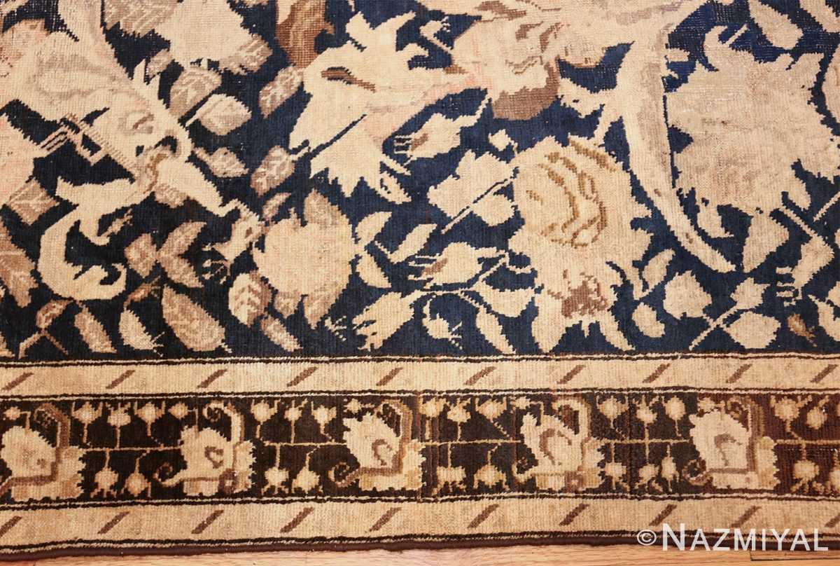 antique karabagh runner rug 44441 border Nazmiyal