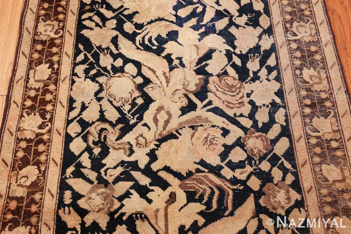 antique karabagh runner rug 44441 detailed Nazmiyal