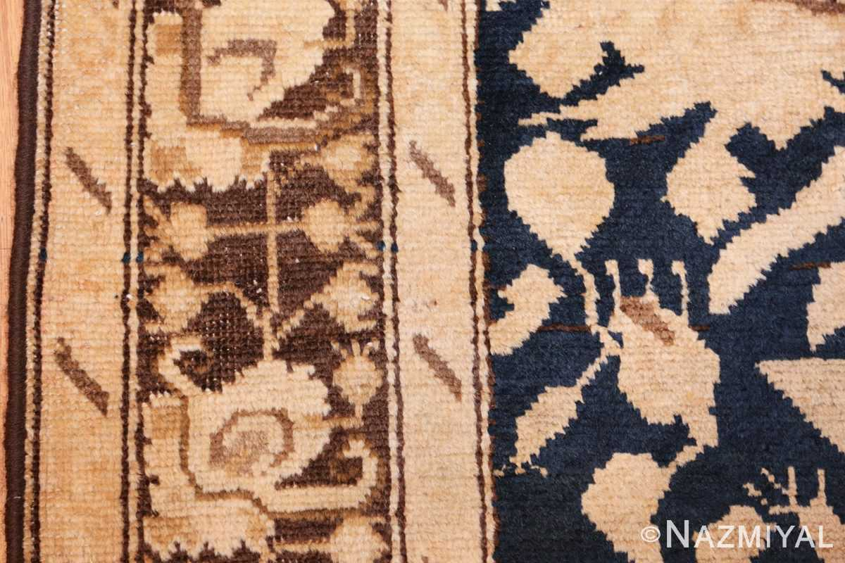 antique karabagh runner rug 44441 part Nazmiyal