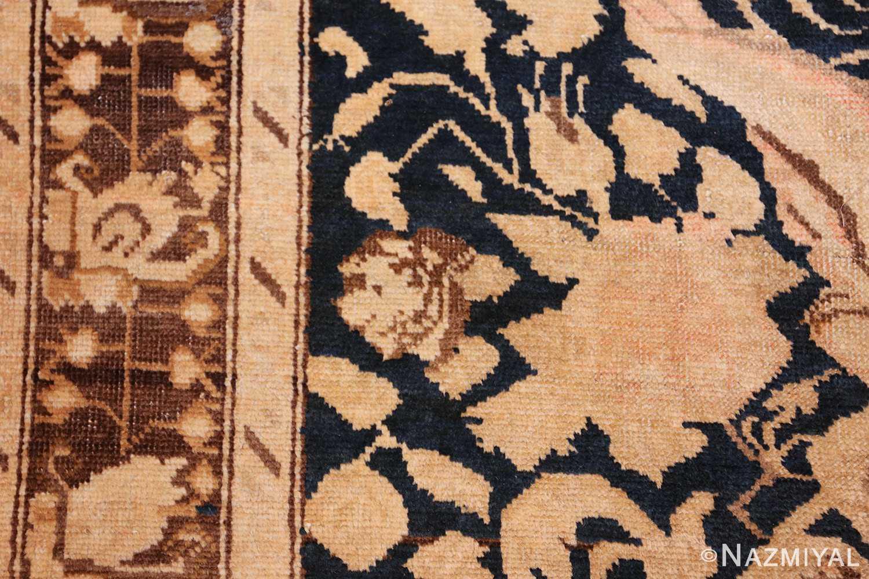 antique karabagh runner rug 44441 rose Nazmiyal