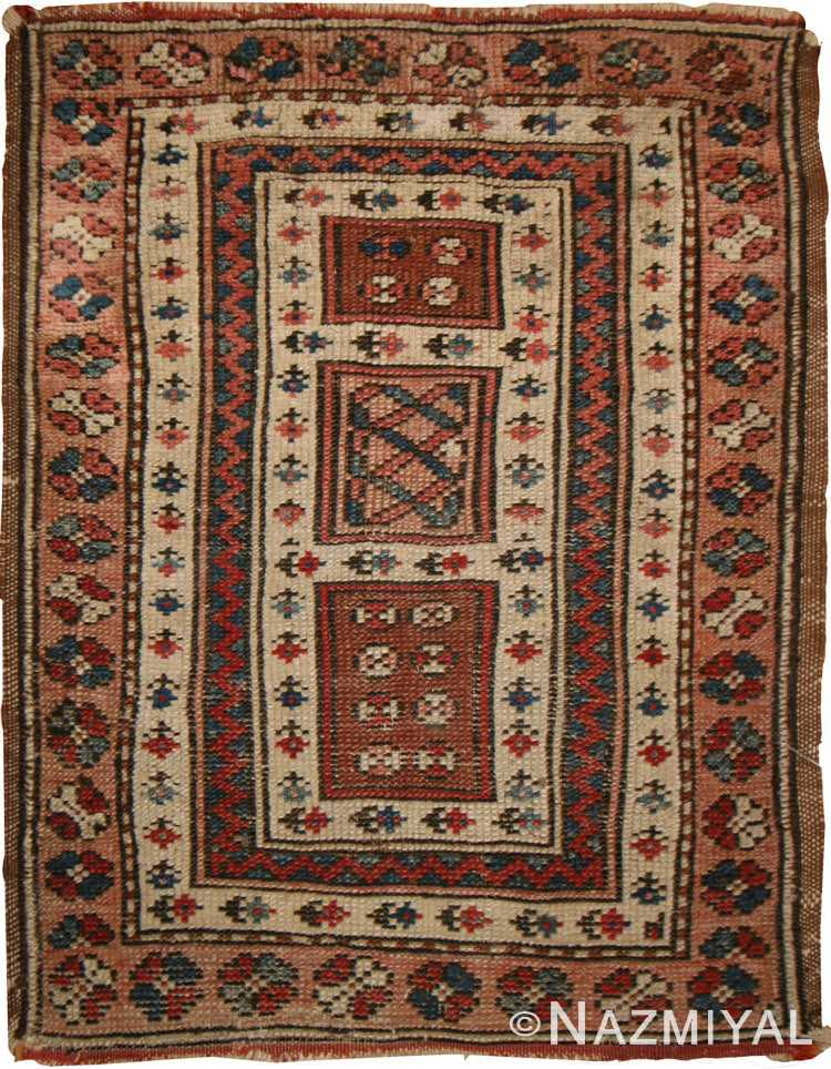 Antique Turkish Milas Rug #44444 by Nazmiyal Antique Rugs