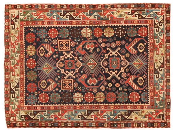Antique Caucasian Kuba Rugs by Nazmiyal