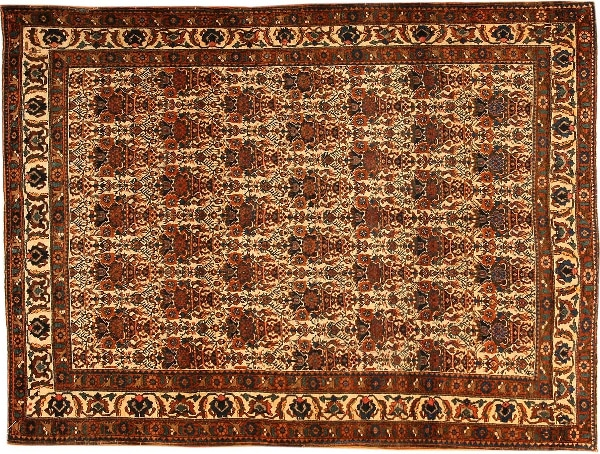 Antique Abadeh Rugs by Nazmiyal