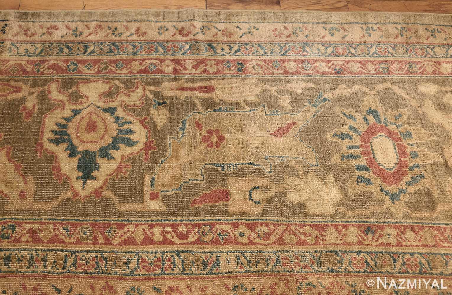 antique persian sultanabad rug 43034 border Nazmiyal