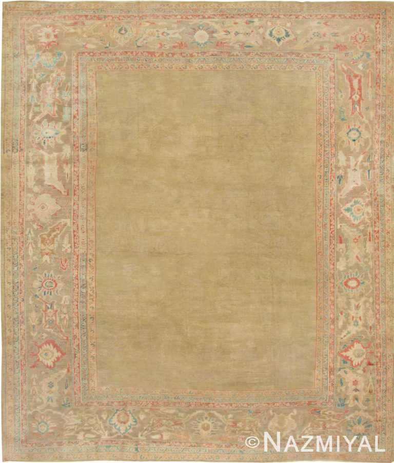 Antique Persian Sultanabad Rug #43034 by Nazmiyal Antique Rugs
