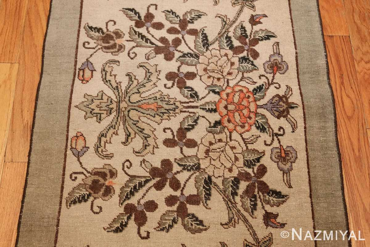 antique tabriz persian rug 44740 bouquet Nazmiyal