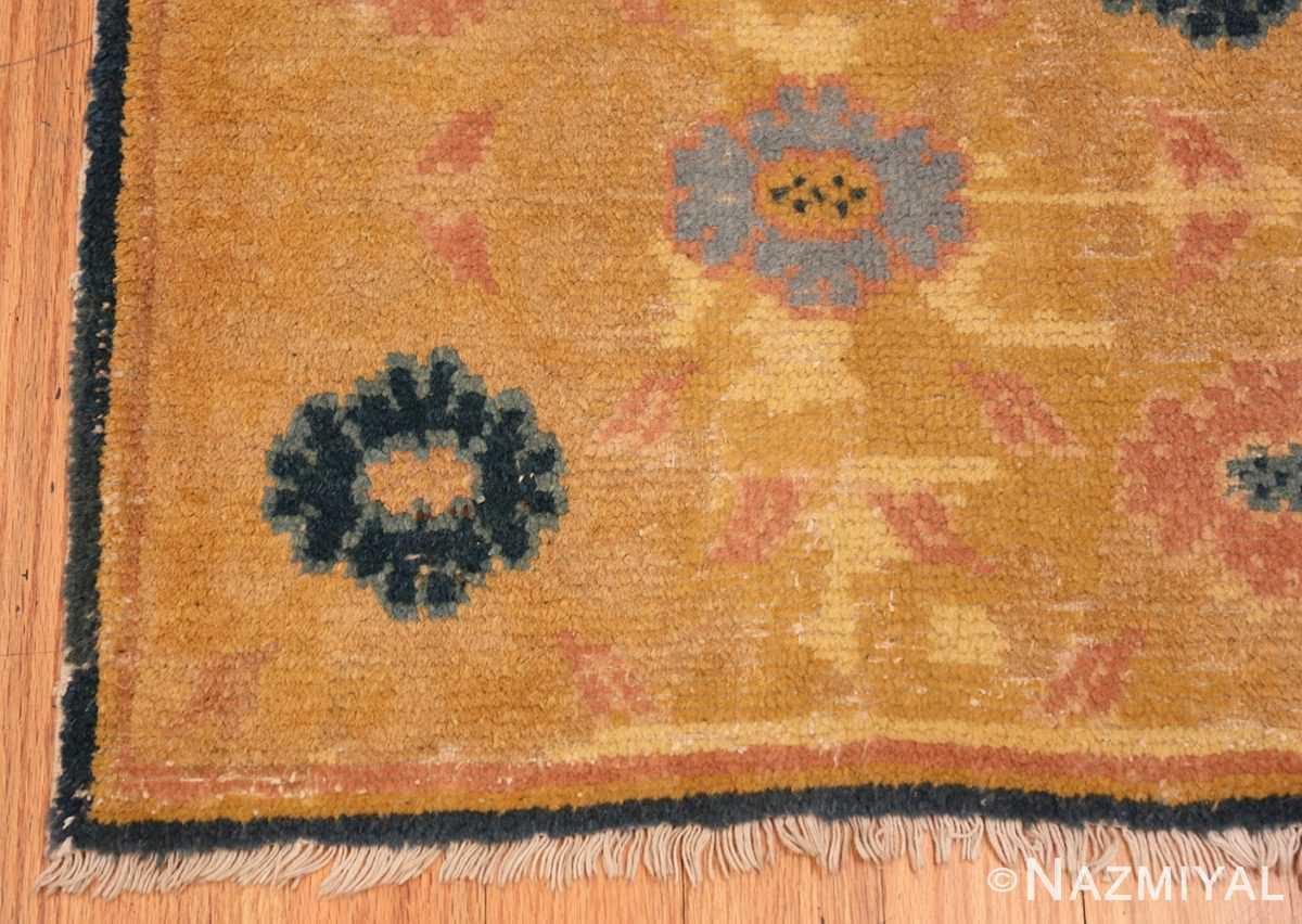 Corner Antique Chinese rug 44823 by Nazmiyal