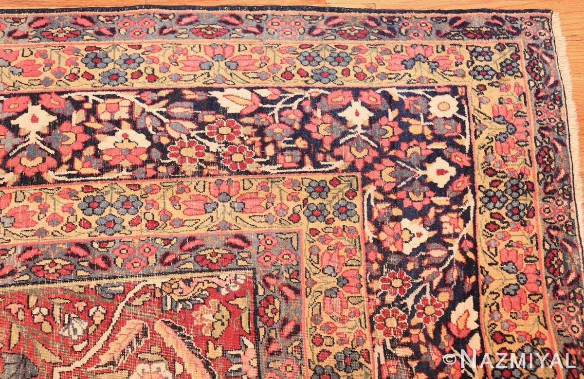 room size foral antique persian kerman rug 44646 border Nazmiyal