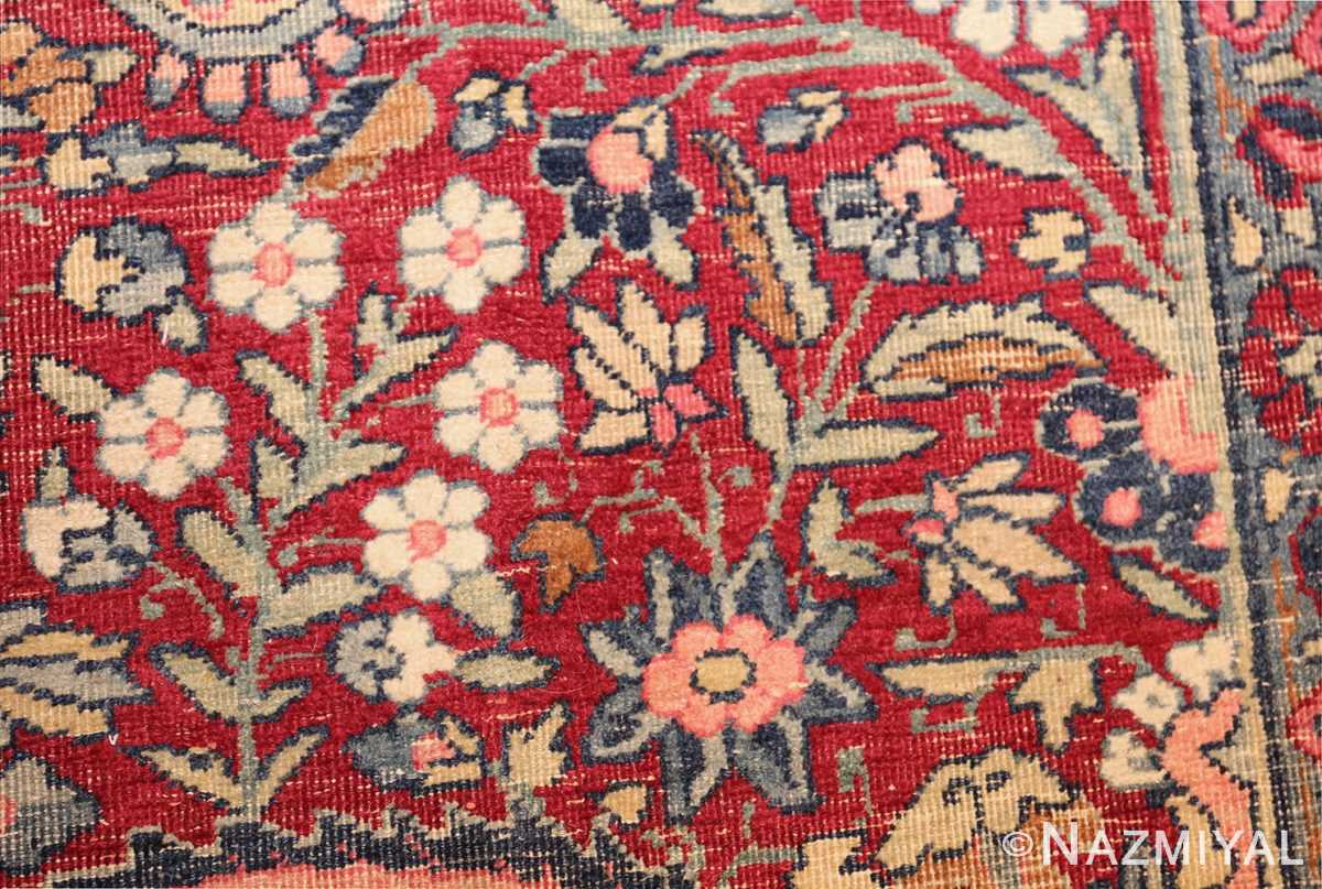 room size floral antique persian kerman rug 44646 tiny Nazmiyal