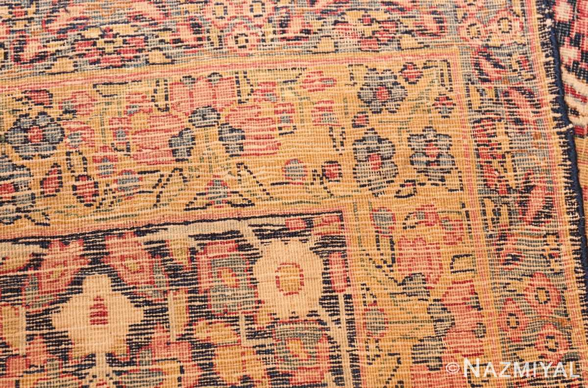 room size floral antique persian kerman rug 44646 weave Nazmiyal