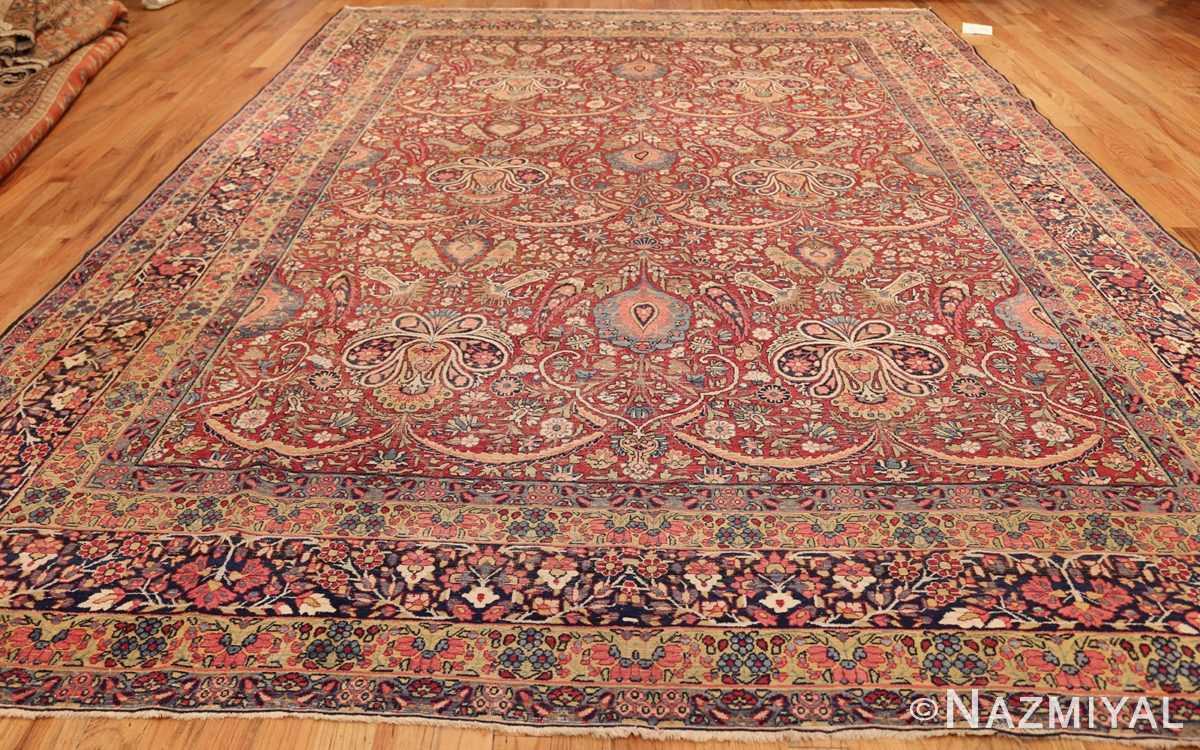 room size floral antique persian kerman rug 44646 whole Nazmiyal