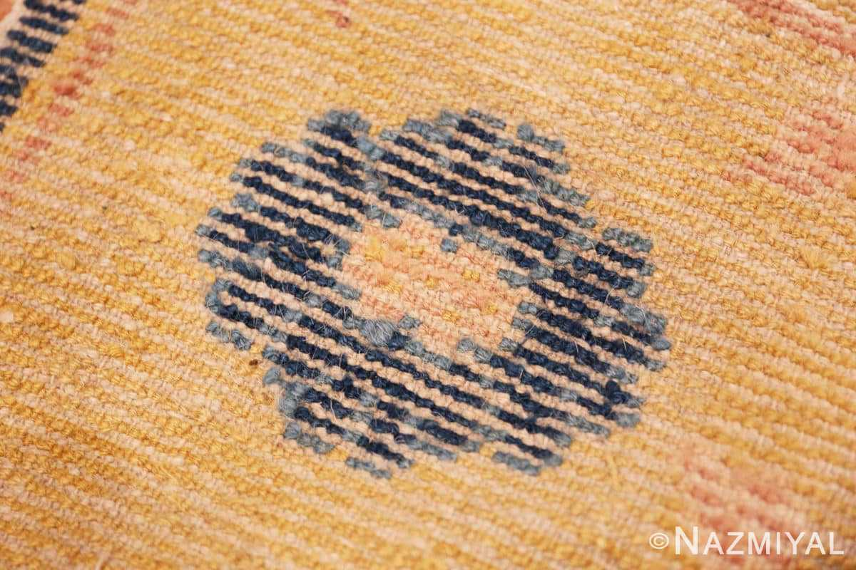 Weave detail Antique Chinese rug 44823 by Nazmiyal
