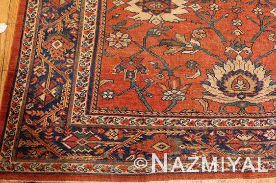 Antique Persian Sultanabad Rug 44148-1 nazmiyal