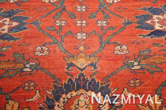Antique Persian Sultanabad Rug 44148-2 nazmiyal