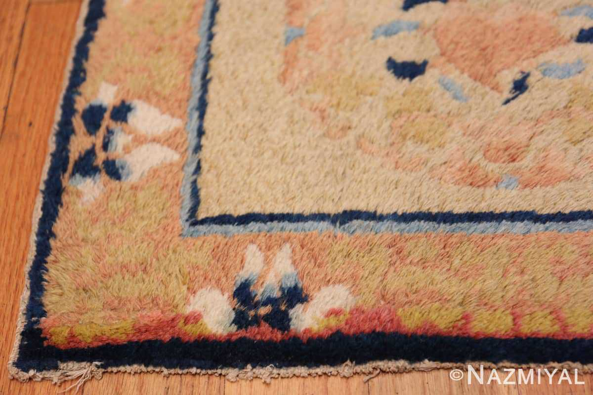 Corner Square Scatter size Antique Chinese rug 44845 by Nazmiyal