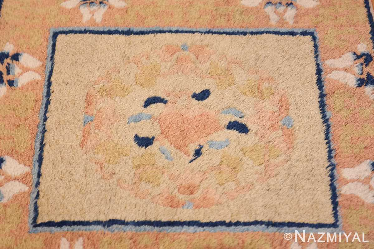 Field Square Scatter size Antique Chinese rug 44845 by Nazmiyal