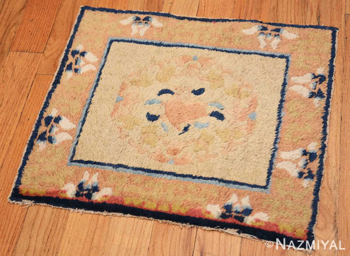 Full Square Scatter size Antique Chinese rug 44845 by Nazmiyal
