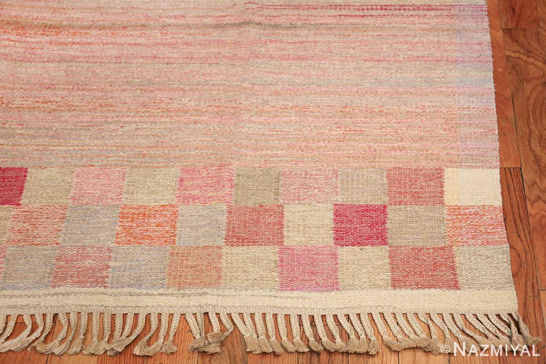 vintage swedish rug 44880 corner Nazmiyal