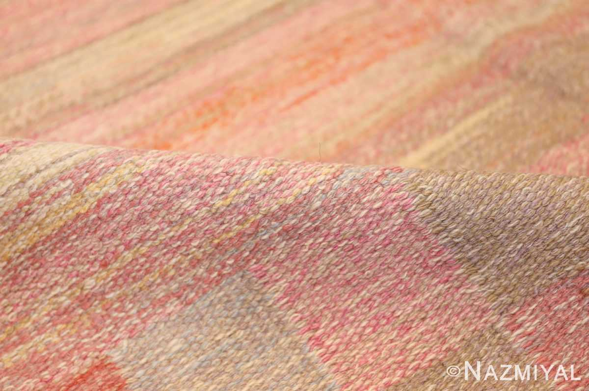 vintage swedish rug 44880 pile Nazmiyal
