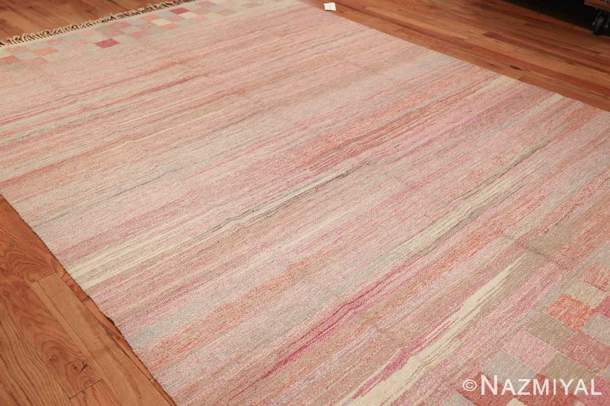 vintage swedish rug 44880 side Nazmiyal