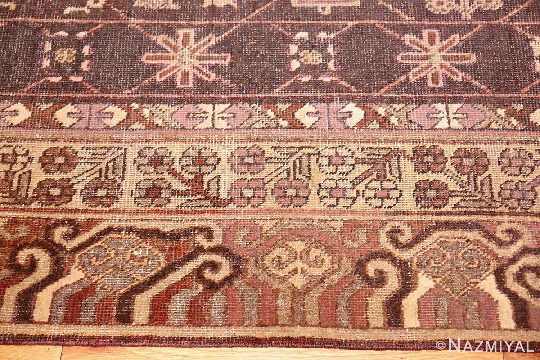 antique khotan rug 44546 border Nazmiyal