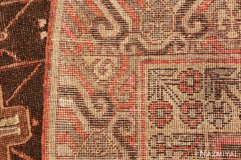 antique khotan rug 44546 weave Nazmiyal