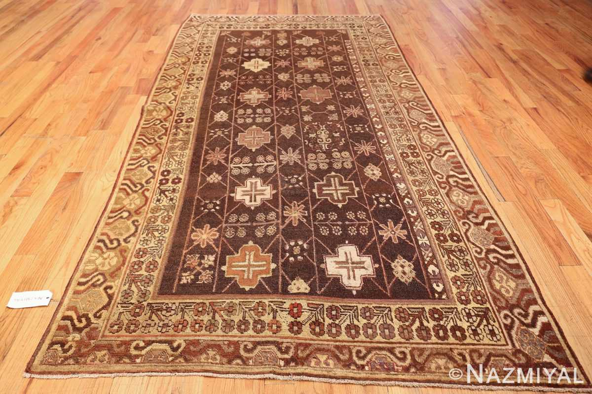 antique khotan rug 44546 whole Nazmiyal