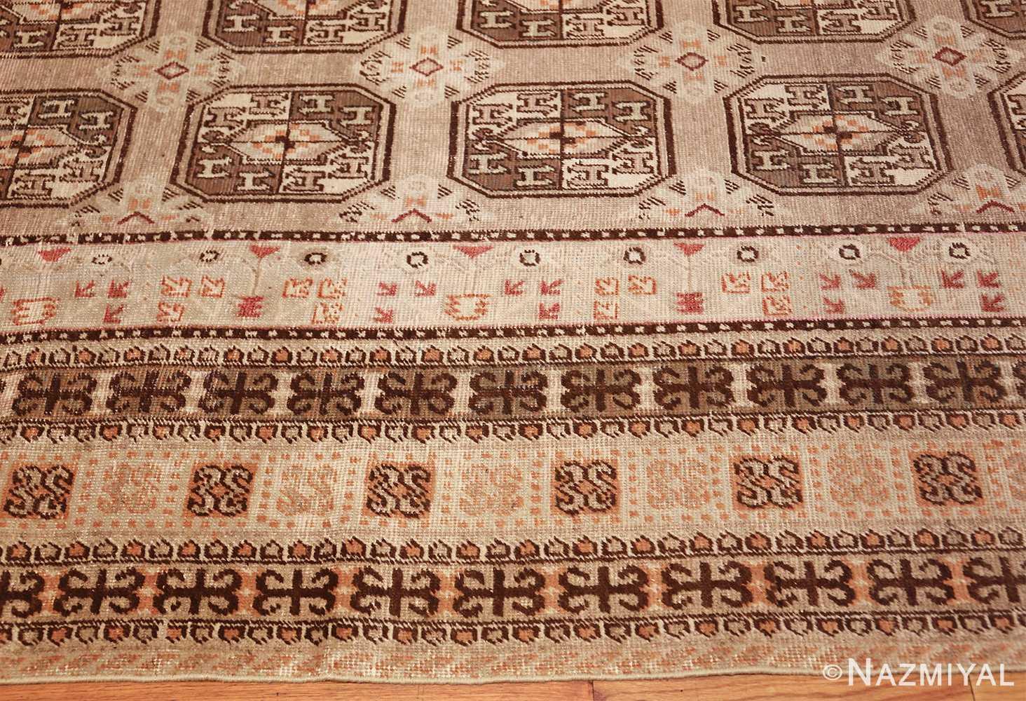 antique long and narrow oriental khotan rug 41761 border Nazmiyal