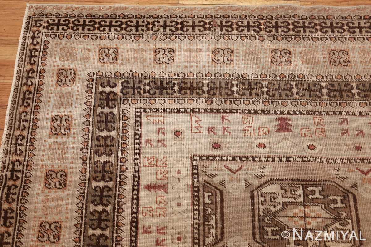 antique long and narrow oriental khotan rug 41761 corner Nazmiyal