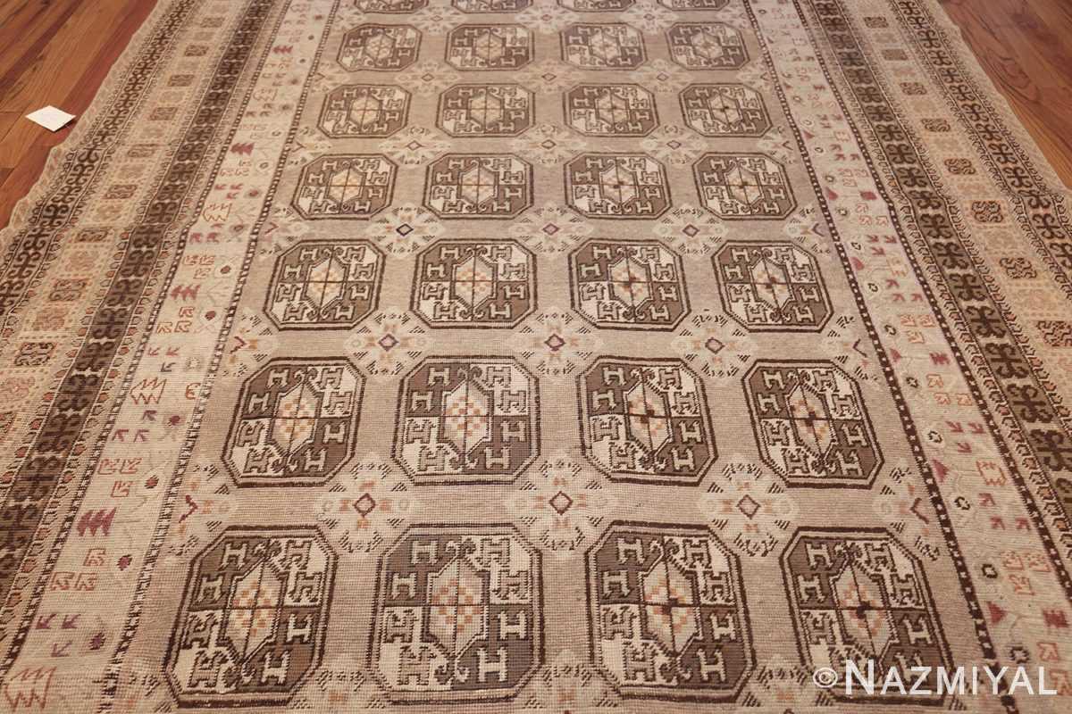 antique long and narrow oriental khotan rug 41761 field Nazmiyal