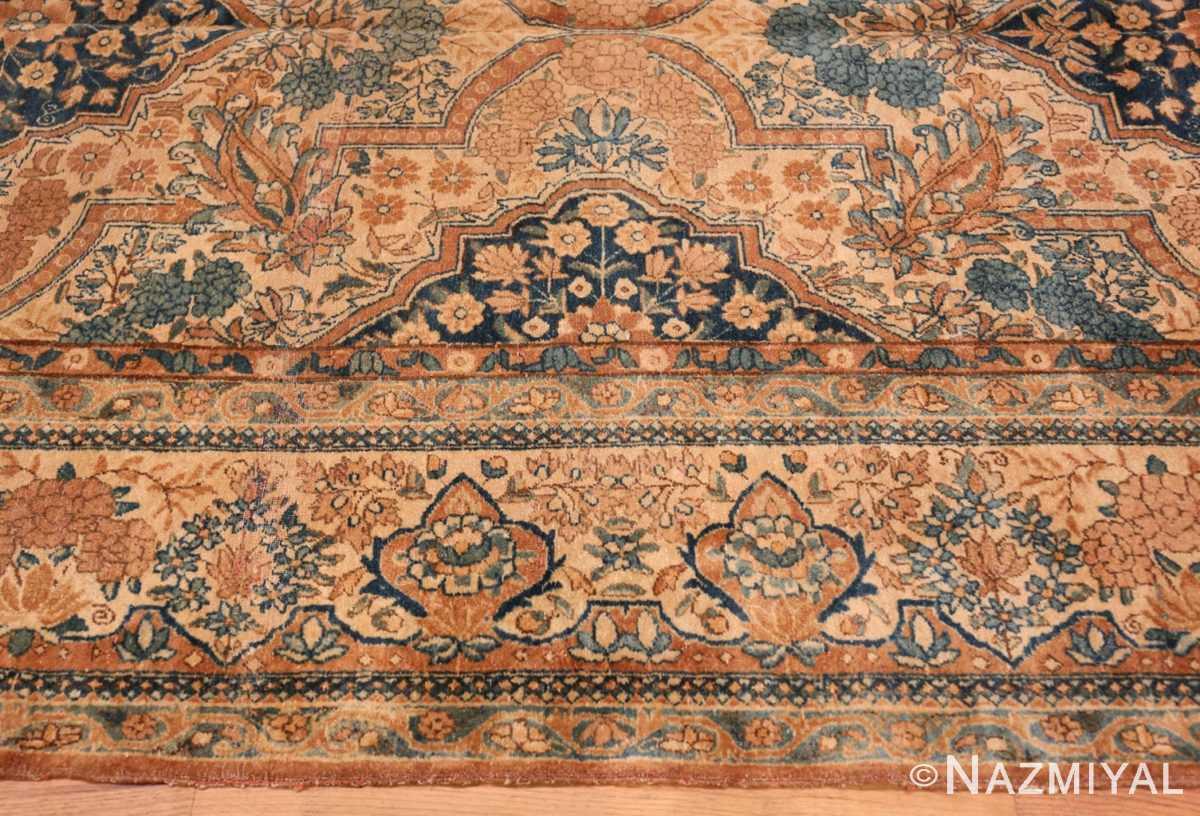 Border Antique Persian Kerman rug 44784 by Nazmiyal