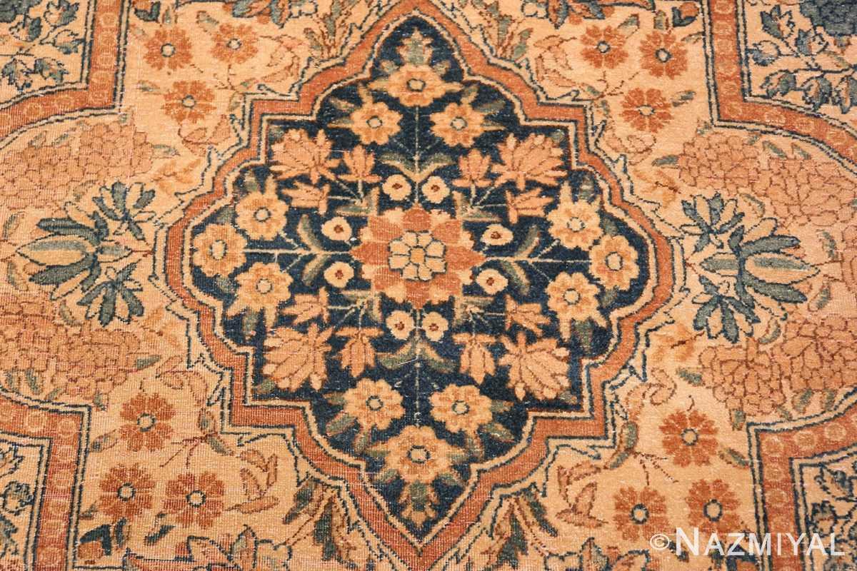 Field Antique Persian Kerman rug 44784 by Nazmiyal