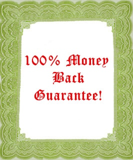 Money Back Guarantee at Nazmiyal