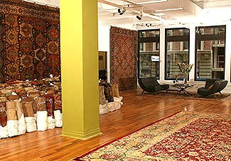 Showroom de Nazmiyal Collection à Manhattan