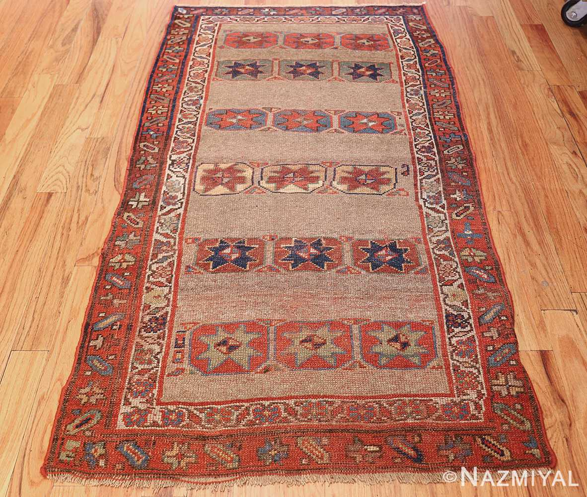 small scatter size tribal antique persian kurdish rug 44932 whole Nazmiyal
