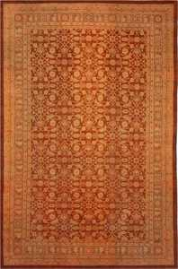 Antique Amritsar Oriental Rug 1574 Nazmiyal