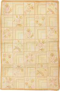 Antique American Hooked Rug 2607 Nazmiyal