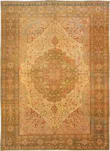 Antique Tabriz Persian Rug 3035 Nazmiyal