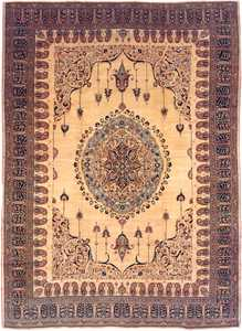 Antique Tabriz Persian Rug 3209 Nazmiyal