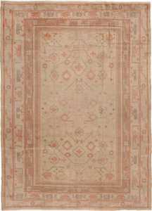 Antique Khotan Oriental Carpet 40447 Nazmiyal